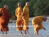 Monks on Beach